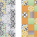 Bright Patchwork Tiles by Purpura_1