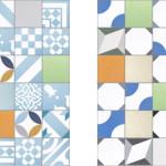 Bright Patchwork Tiles by Purpura_2