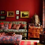 Bold Color Bohemian Living Room_3