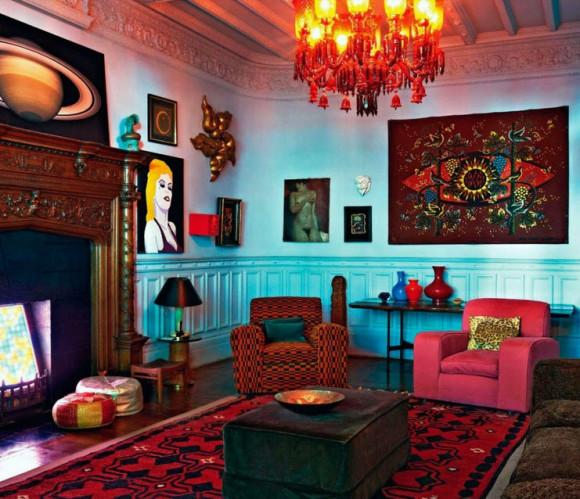 Colorful Boho Home Decor Ideas_16